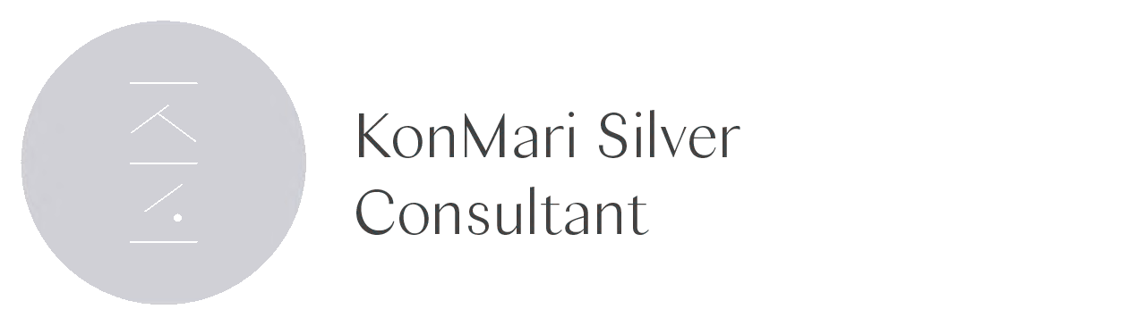 Certified KonMari Consultant Silver